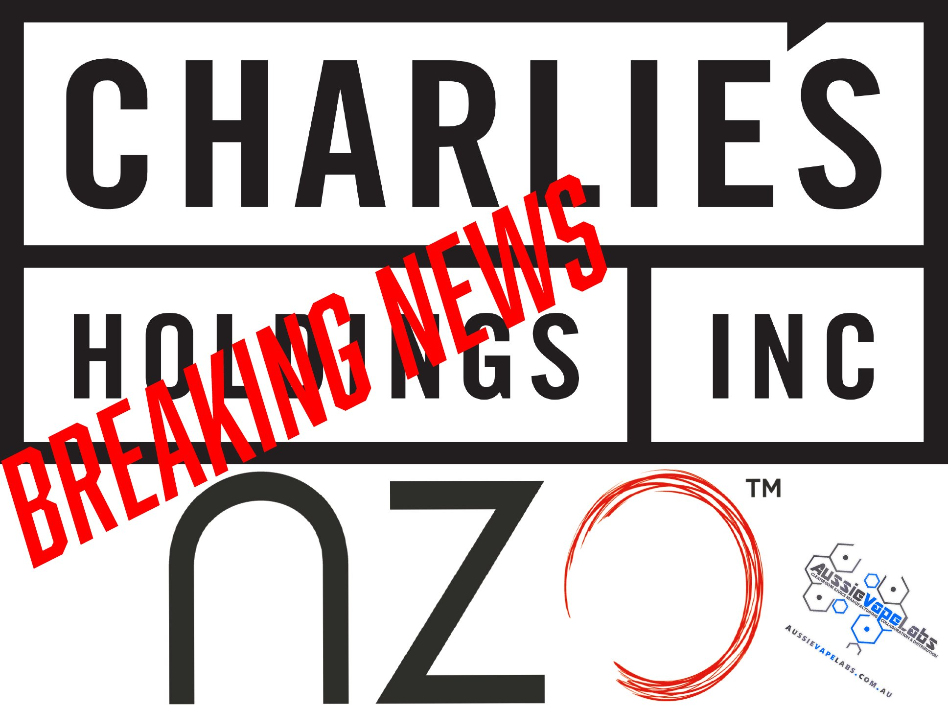 NZO & Charlie's Holdings Announce Collaboration