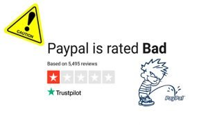 screw paypal wankers